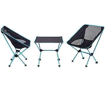 GaLon Mesas y sillas plegables para acampar al aire libre ...