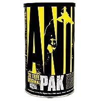 Animal Pak Multivitamin - Vitaminas para la nutrición deportiva con aminoácidos, antioxidantes, enzimas digestivas, complejo de rendimiento - para atletas y culturistas - Apoyo y recuperación inmunes - 44 paquetes