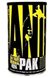 Animal Pak Multivitamin - Sports Nutrition Vitamins with Amino Acids, Antioxidants, Digestive Enzymes, Performance Complex - For Athletes and Bodybuilders - Immune Support and Recovery