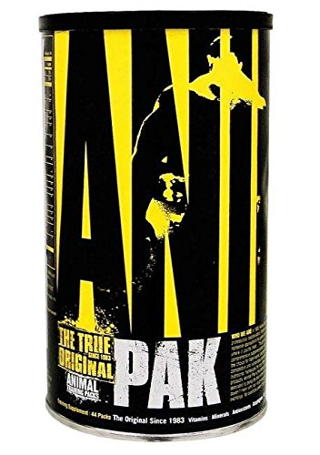 Animal Pak Multivitamin - Sports Nutrition Vitamins with Amino Acids, Antioxidants, Digestive Enzymes, Performance Complex - For Athletes and Bodybuilders - Immune Support and Recovery - 44 Paks from Animal