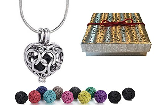 AyaZen Aromatherapy Necklace Diffuser Multi Colored product image