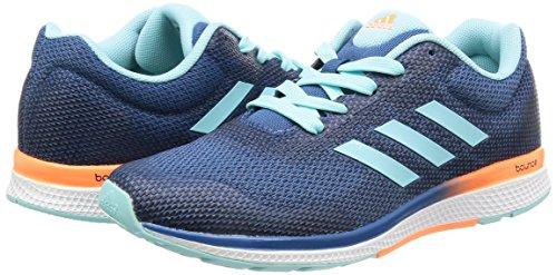 Adidas Mana Bounce 2W Aramis–Chaussures de sport pour femme, bleu–(agucla/narbri/Ftwbla) 38