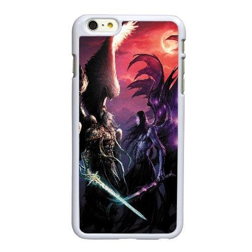 O4Y14 Might & duel magique des champions V2Z9TK coque iPhone 6 Plus de 5,5 pouces cas de couverture de téléphone portable coque blanche XD6THQ3NG