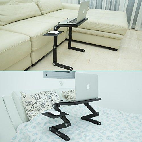 Zerox Portable Folding Aluminum Laptop Table With