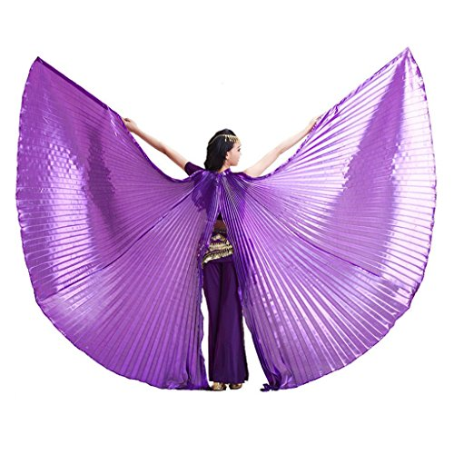 Pilot-trade Women's Egyptian Egypt Belly Dance Costume Bifurcate Isis Wings (Dance Clothes And Costumes)