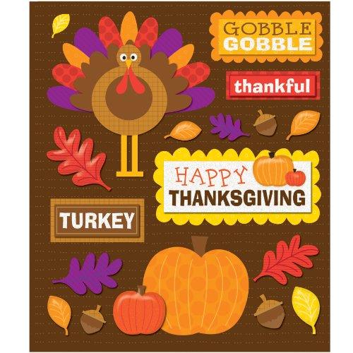 Thanksgiving Sticker Medley