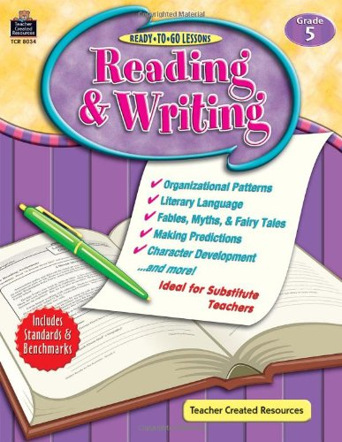 Ready To Go Lessons: Reading & Writing Grd 5 pdf