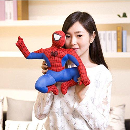 Movie Spider-Man Action Figures Plush Soft Doll Kids Children Baby Boy Girl Toy