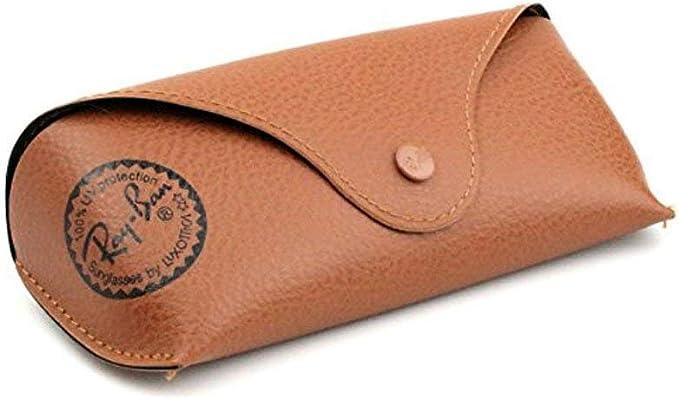 Original Ray-Ban Brillenetui Braun Größe L: Amazon.es: Ropa y accesorios
