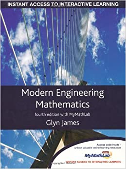 Book Modern Engineering Mathematics with Global Student Access Card by Prof Glyn James (20-May-2010)