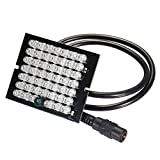 New Safurance DC 12V 48LED IR 940nm Night Vision Infrared Illuminatoring Board for CCTV Camera Home Security
