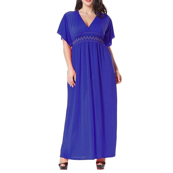 Zhhlinyuan Musulmanes Islámico Ropa Sayo Kaftan Vestir Tallas Grandes Vestido Largo Kaftans para Mujer Vestidos de Playa: Amazon.es: Ropa y accesorios