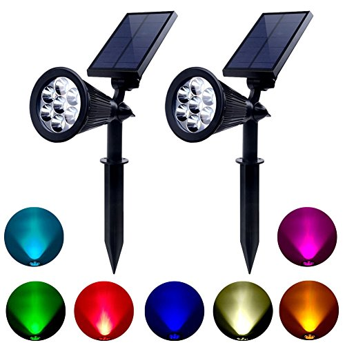 Colored Covers For Landscape Lights