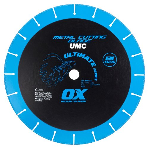 OX OX-UMC-14 Ultimate Metal Cutting 14-Inch Chop Saw Blade by OX Tools