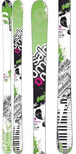 Salomon Twenty Twelve Skis White/Green Sz 163