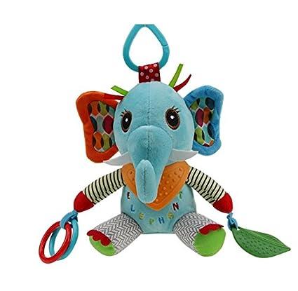 Luxury-uk Toallitas para bebé Juguetes de edredón de títeres de Mano Juguetes de calcomanías