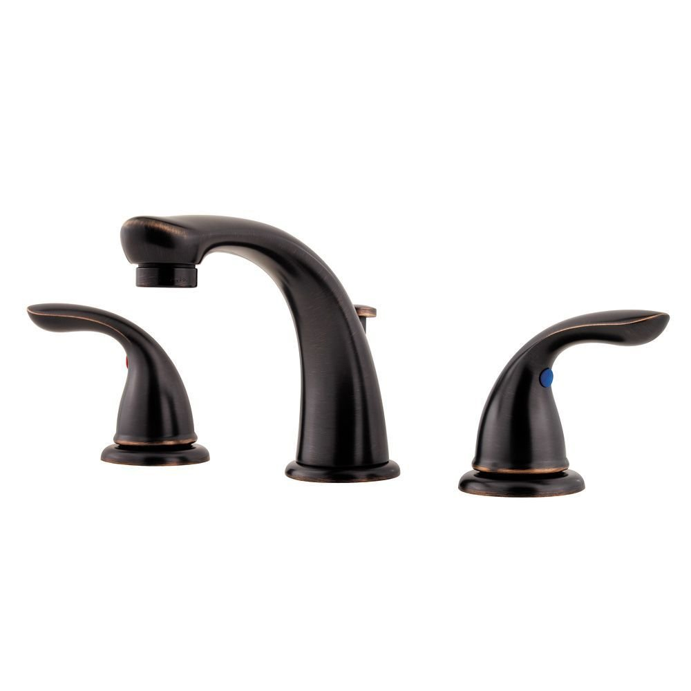 Pfister G1496100 Pfirst Series 2-Handle 8 Inch Widespread Bathroom ...