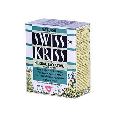 Kriss Laxative Swiss Modern Products (Modern Products Swiss Kriss Herbal Laxative Flake, 3.25 Ounce -- 6 per case.)