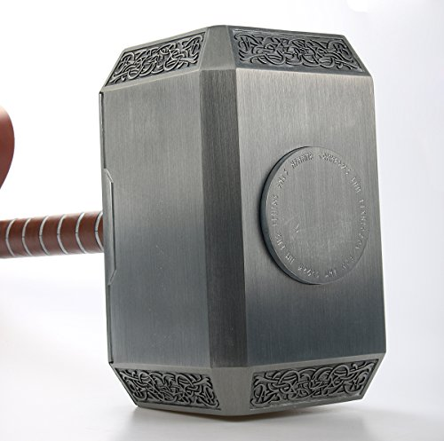 Gmasking 2017 Aluminum Thor Cosplay Hammer 1:1 Halloween Props