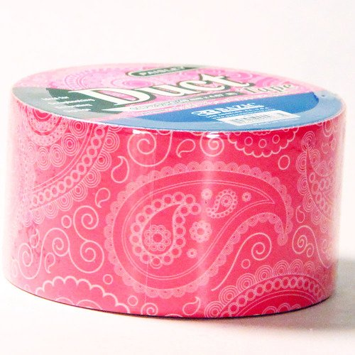 Duct Tape Paisley Print Designer Crafting Decorative Color -