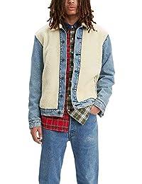 Men's Sherpa Panel Trucker Jacket