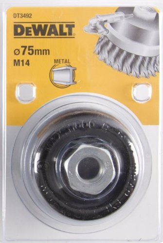 Dewalt DT3492 Twist Knot Wire, Cup Brush, 75 mm x M14