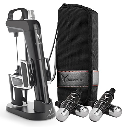 - Coravin Model Two Elite Pro Wine Preservation System, Piano Black
