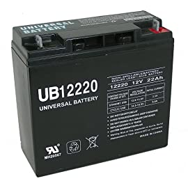Universal Power Group 85952 Sealed Lead Acid Battery 3 Upg 85952 Ub12220, Sealed Lead Acid Battery