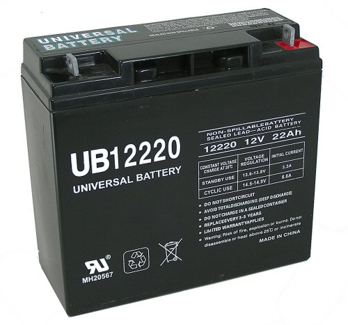 Universal Power Group 85952 Sealed Lead Acid Battery 1 Upg 85952 Ub12220, Sealed Lead Acid Battery
