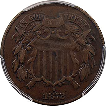1872 P 2-Cent Pieces Two-Cent VF35 PCGSCAC BN