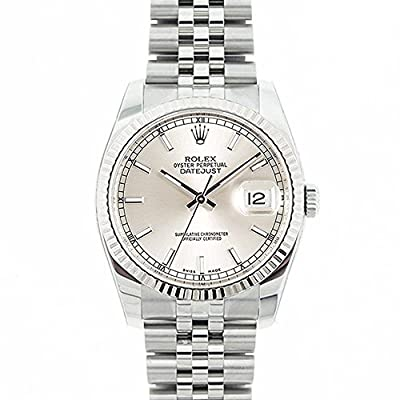 Rolex Datejust swiss-automatic mens Watch 116234 (Certified Pre-owned)