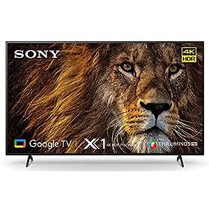 Sony Bravia 139 cm (55 inches) 4K Ultra HD Smart LED Google TV KD-55X80AJ (Black) (2021 Model) | with Alexa…