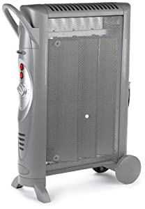 Bionaire Silent Micathermic Console Heater, Gray