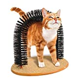 Pet-love Playtime Cat Arch, Helps prevent hairballs and controls shedding