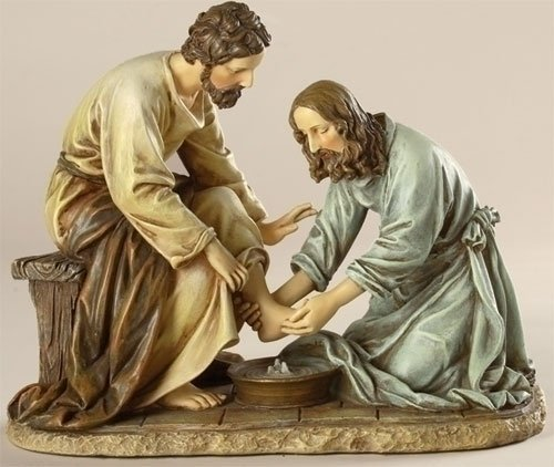 Jesus Washes the Disciple's Feet By Josphs Studio 45615]()
