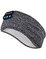 Sömnhörlurar trådlösa – Navly V5.0 sport pannband hörlurar med ultratunna HD stereohögtalare, perfekt för sport, sidosovare, flygresor, meditation och avkoppling