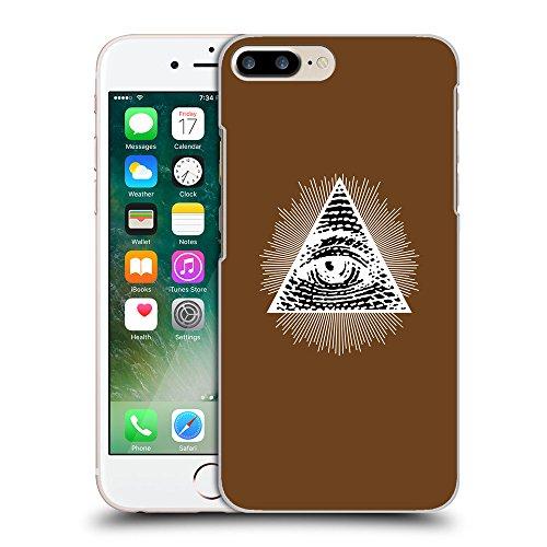GoGoMobile Coque de Protection TPU Silicone Case pour // Q09030633 Œil Providence 13 Sépia // Apple iPhone 7 PLUS