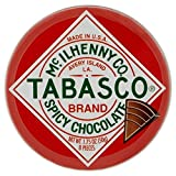 Tabasco Tin of Spicy Chocolate Wedges 50g