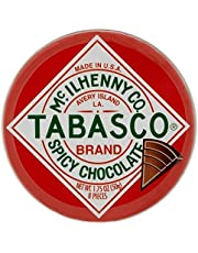 Tabasco Lata De Cuñas De Chocolate Picante 50g (Paquete de 2)