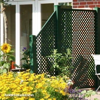 Videx Elemento de cierre para ventana pared Coventry de diamante, Biselado, color verde: Amazon.es: Jardín