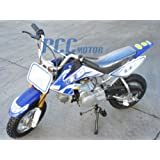 DB70 Dirt bike 70cc Semi Automatic, BLUE