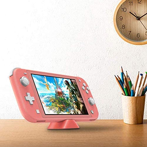 "NexiGo 2020 Nintendo Switch Lite Console Family Christmas Holiday Bundle - Coral, 5.5"" Touchscreen Display, Built-in Plus Control Pad, Bluetooth 4.1, 128GB MicroSD Card + Charging Station Bundle"