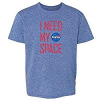 NASA Approved I Need My Space Meatball Logo Funny Toddler Kids T-Shirt