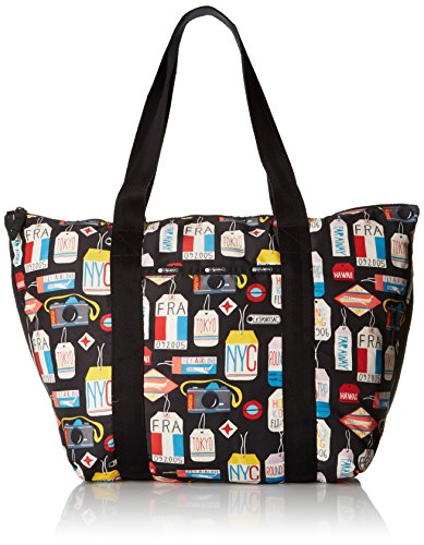 - LeSportsac Large On The Go Tote, Boarding Pass