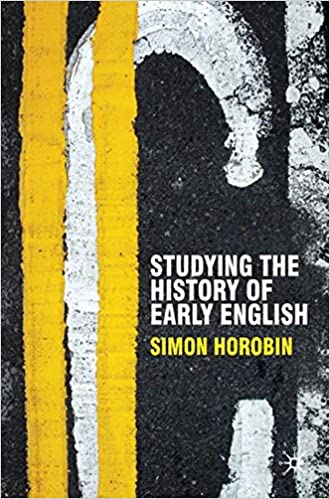 Book Studying the History of Early English (Perspectives on the English Language)