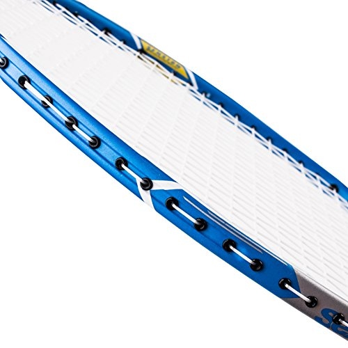 Senston S 300 Graphite Badminton Racket Full Carbon Badminton Racquet(White/Red/Black/Blue) With Racket Cover .