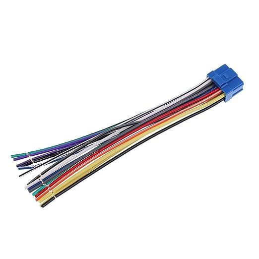New Pioneer AVH-P6500DVD AVIC-N1 AVIC-N2 AVIC-N3 16Pin Copper Wire Harness Plug