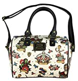 marvel handbag - Loungefly Marvel Guardians Of The Galaxy Character Tattoo Duffle Cross body Bag Purse