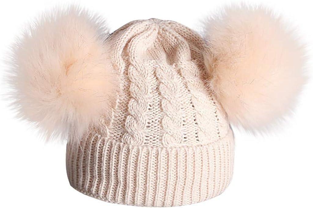 Culater/® Cappello bello Spire morbido lavorato a maglia bambini bambino bambino Rosa