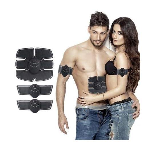 Ceinture abdominale électronique Electrostimulateur Appareil Musculaire Fitness Massage Abdominaux Bras Cuisses Entraînement Renforcement Tonification pour Homme et Femme